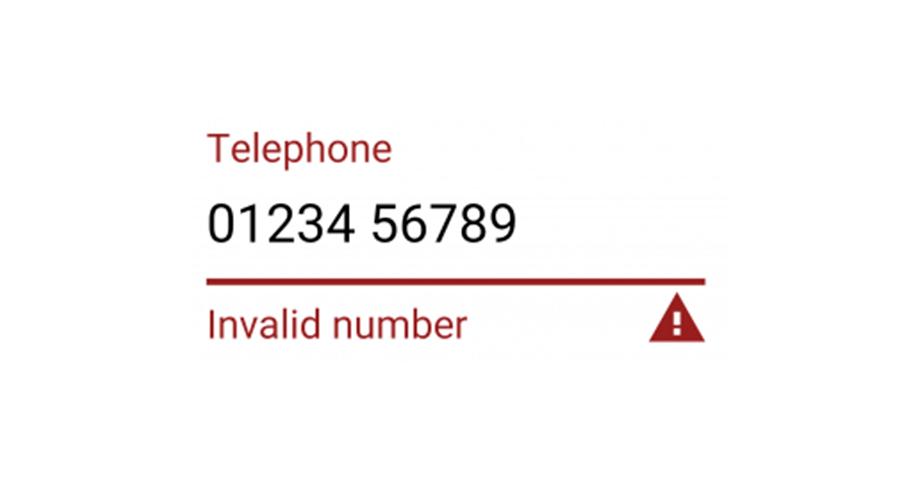 ux design Telefonnummer