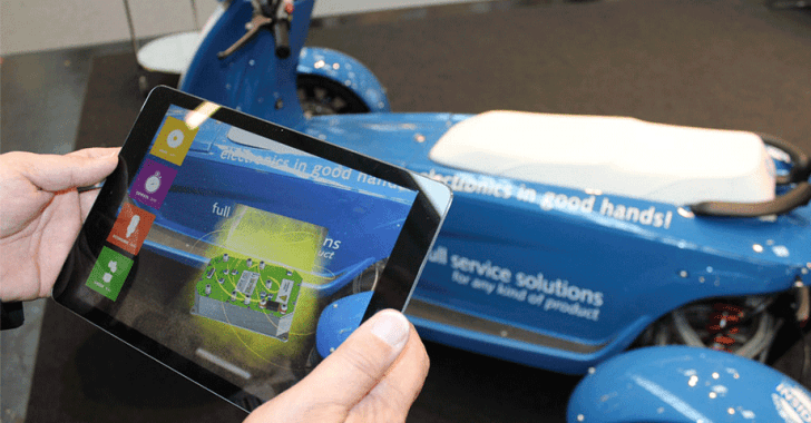 messen augmented reality