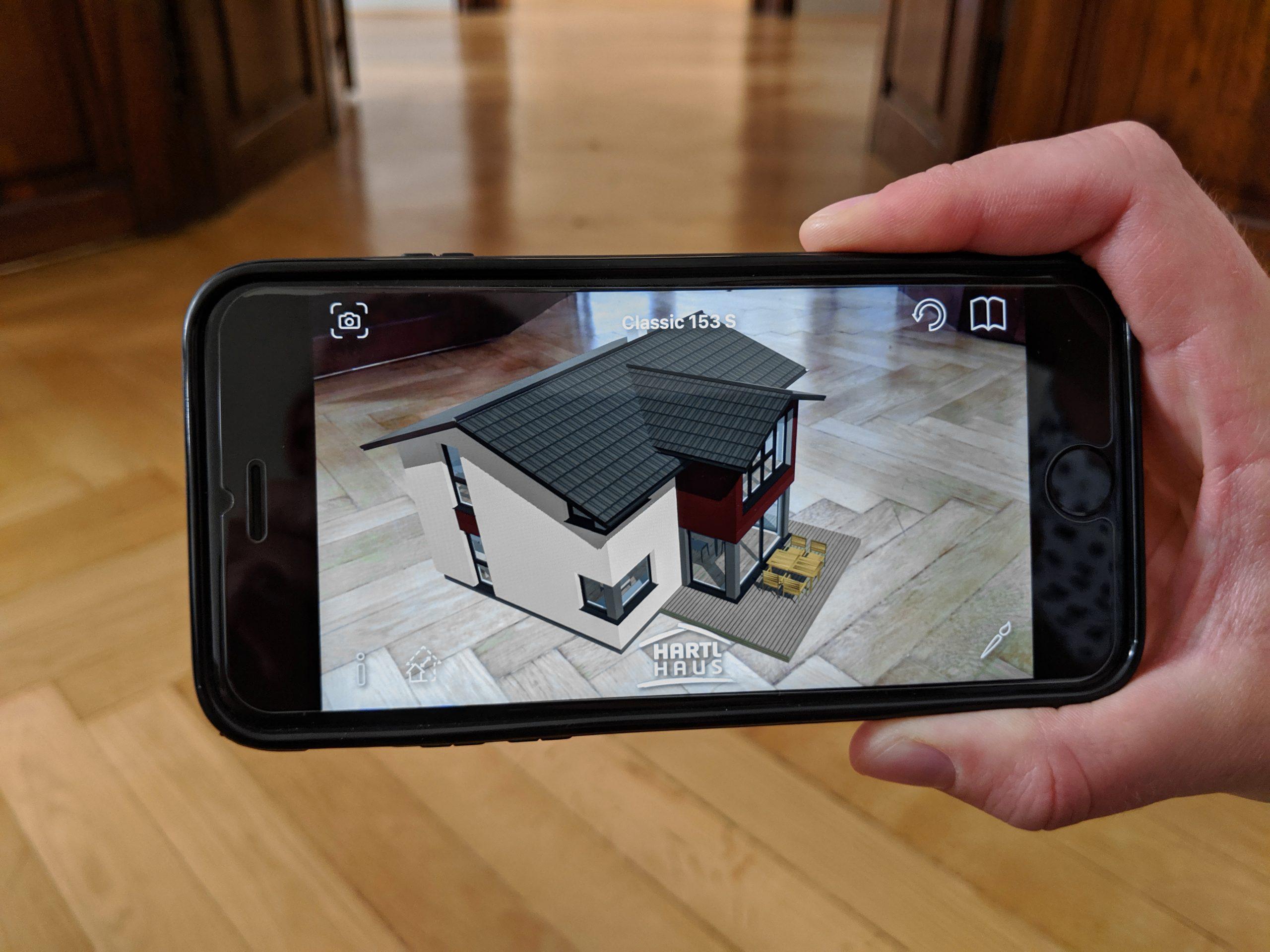 Hartl Haus AR App codeflügel