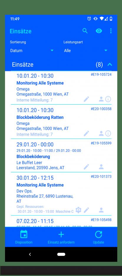 App Codeflügel