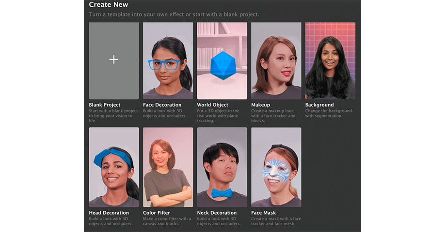 ar filter snapchat lens studio