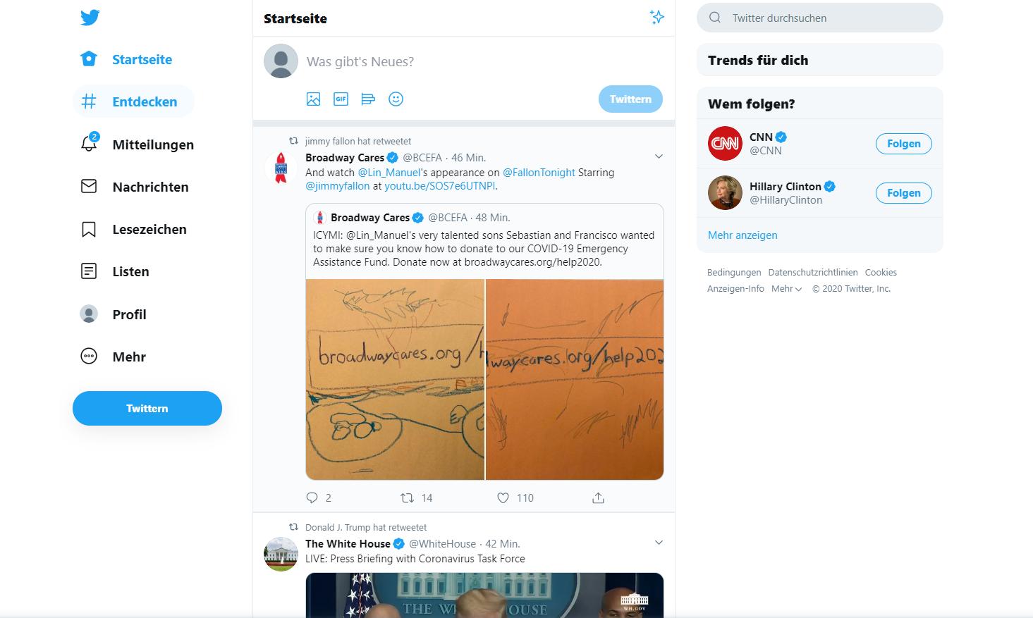 progressive web app twitter