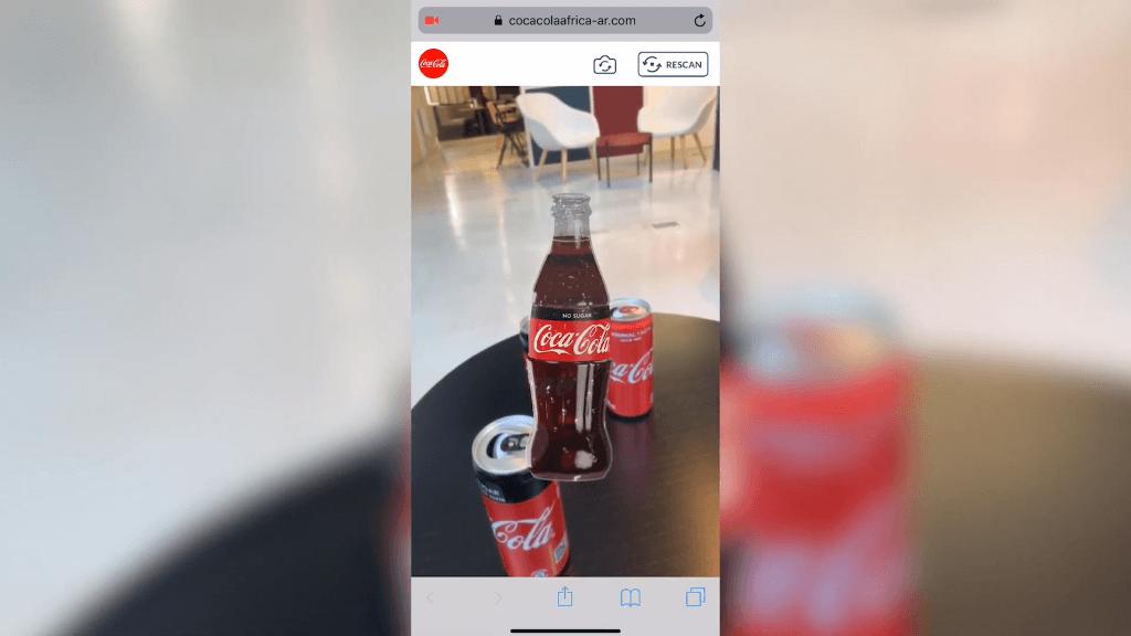 WEbAr Coca Cola