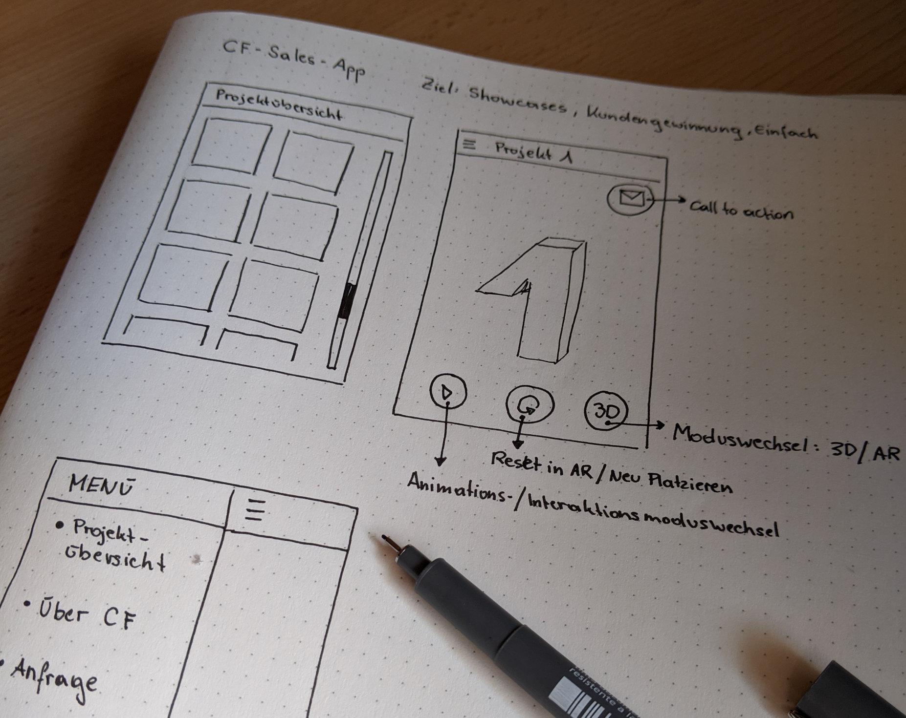 Beispiel für skizze
